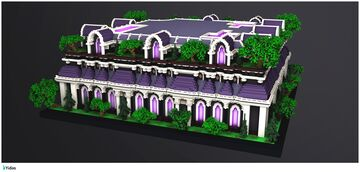 Purple Prison Spawn Minecraft Map & Project