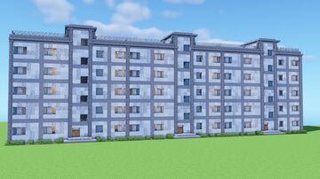 Khrushchyovka Structure Minecraft Map & Project