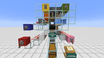 3 in 1 Generator (Generates Cobble, Stone & Basalt) Minecraft Map & Project