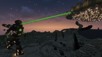The Fall of Skyhold Minecraft Map & Project