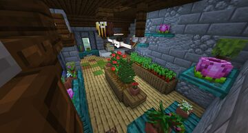 Plant Shop Minecraft Map & Project