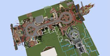 Custom Disneyland Park Minecraft Map & Project