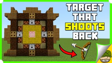 Target That Shoots You Back Minecraft Map & Project