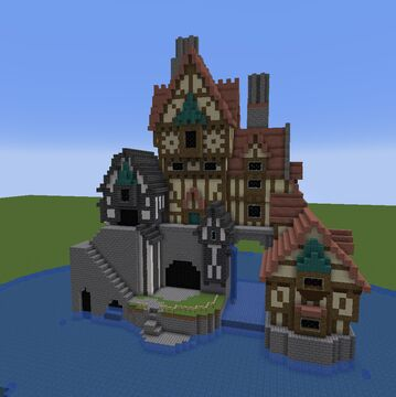 Basic House Minecraft Map & Project