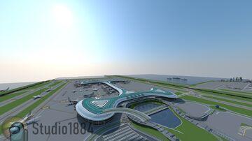 Kasukano International Airport Minecraft Map & Project