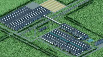 Hyundai car factory Minecraft Map & Project