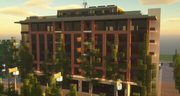 Office and apartment building Minecraft Map & Project