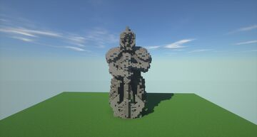 Khazad Dûm   Dwarven guard statue Minecraft Map & Project