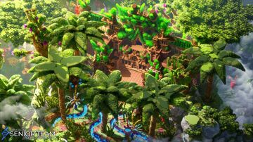 Jungle Mansion Spawn Minecraft Map & Project