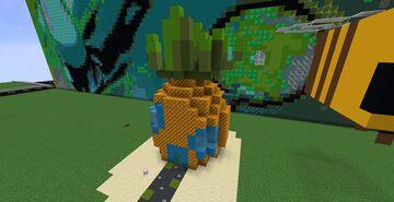 Sponge Bob Pineapple House Minecraft Map & Project