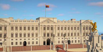 Buckingham palace, London (unfinished) - update Minecraft Map & Project