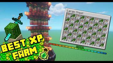 Minecraft XP FARM Minecraft Map & Project