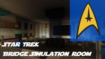 Star Trek Bridge Simulation Room Building Minecraft Map & Project