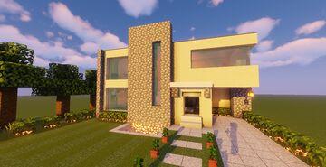 Modern House #124 (Map + Schematics) Minecraft Map & Project