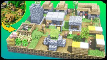 MINI VILLAGE Minecraft Map & Project