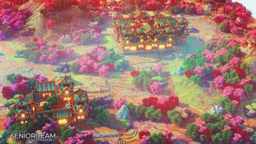 Oriental Spawn Minecraft Map & Project