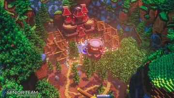 Village Server Hub Minecraft Map & Project