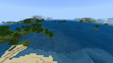 Infdev world Minecraft Map & Project