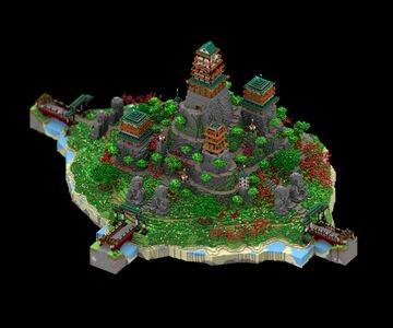 Recinto de buda Deimos (ONLY PICTURES) Minecraft Map & Project