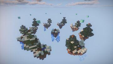 Mapa de SkyWars - Snow Minecraft Map & Project