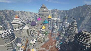 Iwagakure - Village Hidden by Rocks Minecraft Map & Project