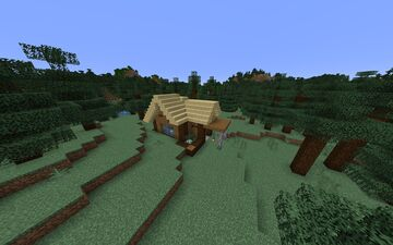 Nice Survival House Free Download Minecraft Map & Project