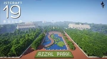 Rizal Park or Luneta Park in Manila, Philippines Minecraft Map & Project