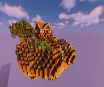 Floating Island [DOWNLOAD] [SCHEMATIC ONLY] Minecraft Map & Project