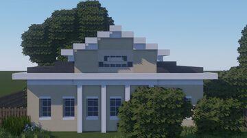 Дом Луковникова в Коломне. / Lukovnikov house in Kolomna. Minecraft Map & Project