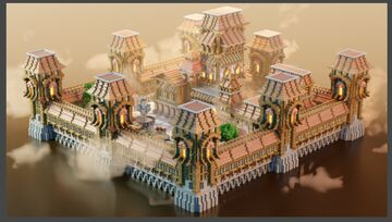 Medieval Hub Minecraft Map & Project