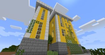 (Half-Life 2) City 17 Style Apartment Building Minecraft Map & Project