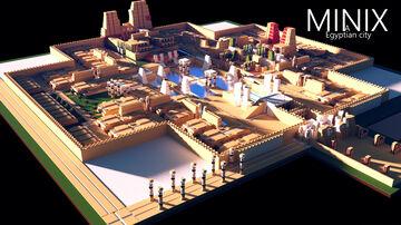 city MINIX Minecraft Map & Project