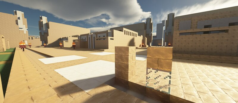 The texture pack is called PAST Millennium. Using a shader mod called SEUS ptgi e12.