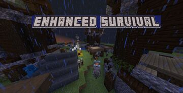 Enhanced Survival World Minecraft Map & Project