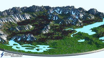 Terrain World Minecraft Map & Project