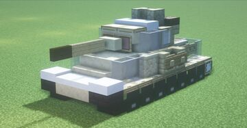 Pz.Kpfw. IV Ausf.G (1.5:1 scale) Minecraft Map & Project