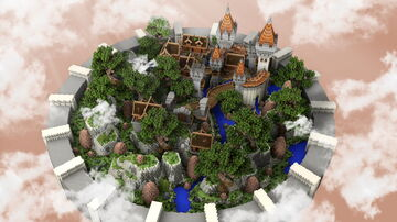 Lobby / Hub Minecraft 250 × 250 Minecraft Map & Project