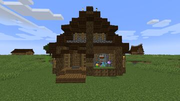 Medieval Fever (8) - Cozy shack Minecraft Map & Project