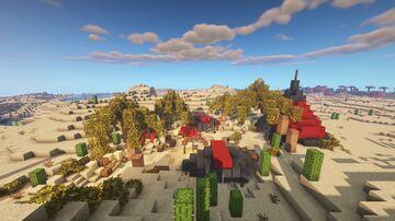 Desert Camp - Creative Builds Series Minecraft Map & Project