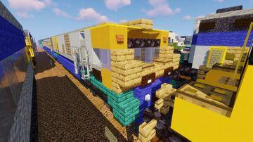 VIA Rail - LRC Locomotive Minecraft Map & Project