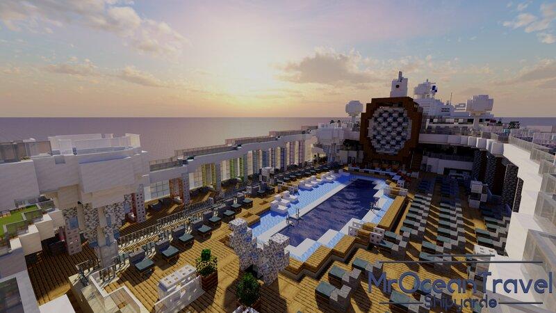 Celebrity EDGE - Resort Deck
