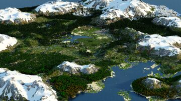 Udroxor - Northic Mutlibiome Island  (Download, 4k, 1.16+,  Java & Bedrock, Realistic Minecraft Survival World) Minecraft Map & Project