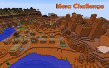 Mesa Challenge Minecraft Map & Project