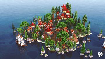 Lobby Ruby Kingdom Minecraft Map & Project