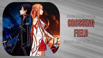 Crossing Field - Sword Art Online OP - Minecraft Note Block Cover Minecraft Map & Project