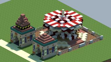 Merry-Go-Round1 [With Download] Minecraft Map & Project