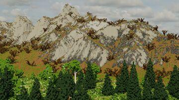 Akren (3k x 3k) Minecraft Map & Project