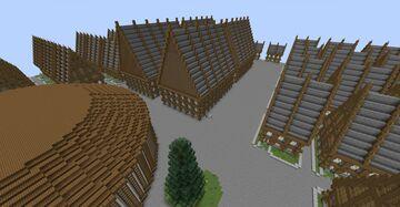 Survival+plots Secular city Minecraft Map & Project