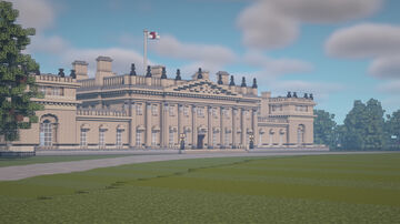 Harewood House Minecraft Map & Project