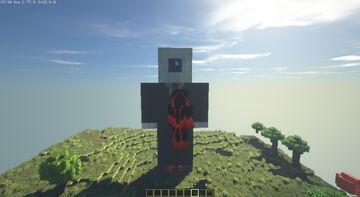 AsianHalfSquat Statue Minecraft Map & Project